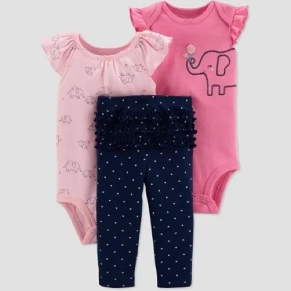 Just one you by Carter's set for baby girl